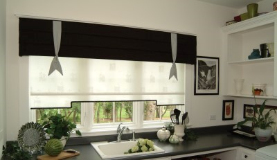 Custom Shade and Valance