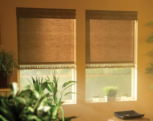Amber Weave Roller Shade