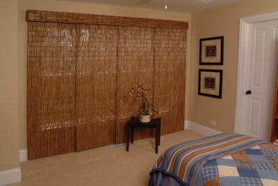 Sliding Panels with a rustic look